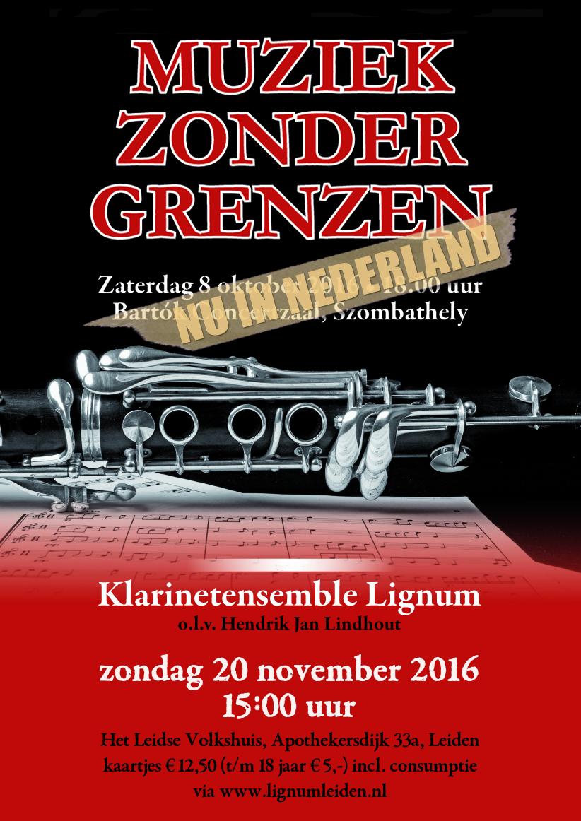 Aankondiging Lignum jubileumconcert 2016