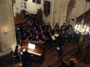 Concert in Noorwegen, Tingvoll Kirke, mei 2007