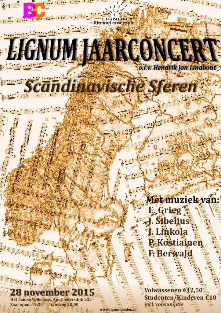 Aankondiging Jaarconcert Scandinavische Sferen